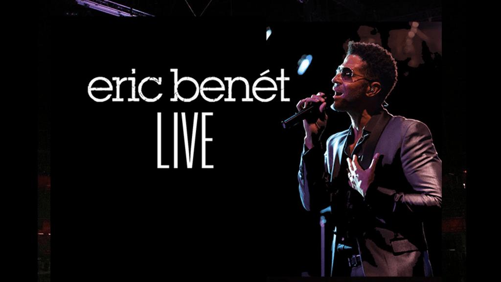 Eric Benet Live from B.B. King Blues Club & Grill New York